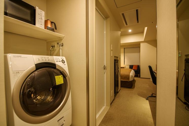 洗濯機・電子レンジ・ケトル