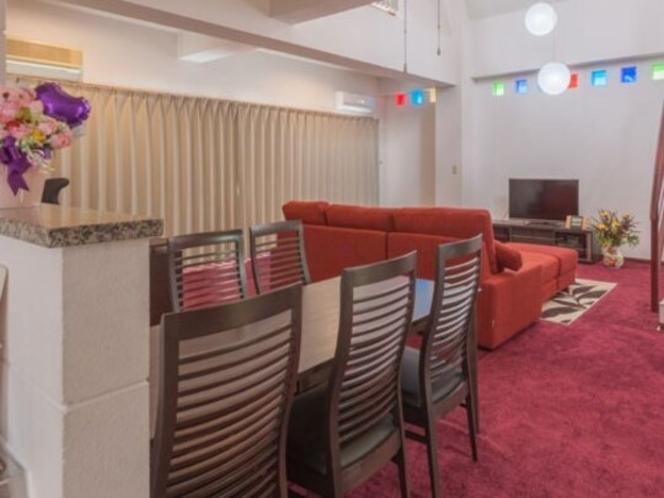 メゾンマックス4階 1LDK  110㎡ 広々した客室