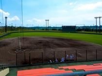 金武町ベースボールスタジアム(宿から車で約40分)