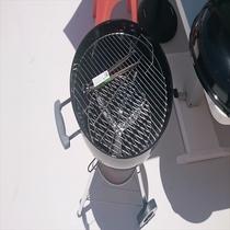 4階客室専用BBQセット(炭式、炭もご用意しております)