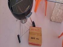 3階客室専用BBQセット(炭式、炭もご用意しております)