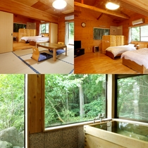 *【別館】本館の目の前の1戸建ての貸別荘で、プライベート空間を満喫