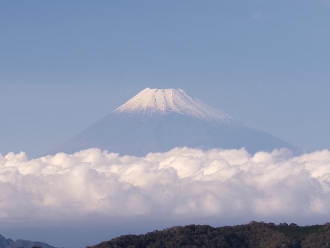 *雲の動きが魅せる 富士山の様々な表情