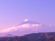 *どの時間も富士山の美しさを引き出します