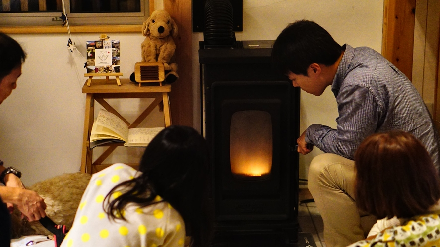 暖炉(1号館)