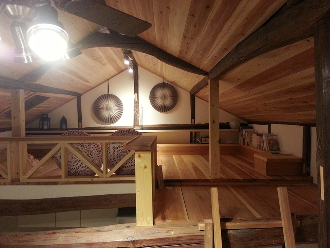 ロフト図書館 timber loft library