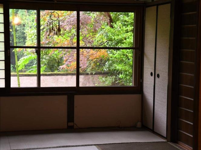 2号館寝室からの景色