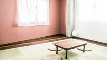 ・【和室個室一例】琉球畳を使用した上質な空間