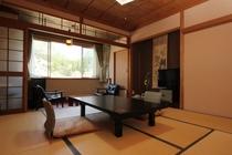 8畳和室 桜の風景
