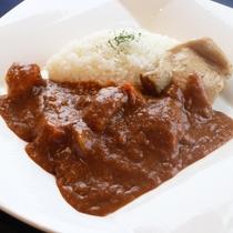 【ご朝食】伊達鶏の朝カレーセット