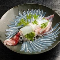 【別注料理】玄界灘の荒波で育った魚介類は、活きが良く身が締まっており食感・旨味共に絶品です。