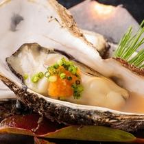 【別注料理】磯の旨味が濃縮された濃厚な旨味を堪能できる、牡蠣はこれもまた絶品!