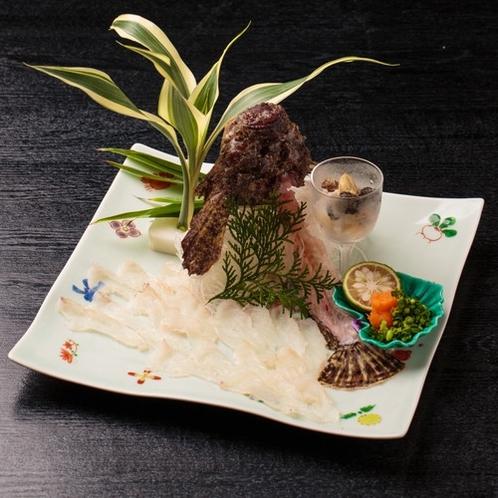【別注料理】おこぜのお造り
