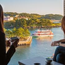 【全室禁煙】行き交う漁船や客船を眺めながら、日頃の疲れを癒してリフレッシュできます♪