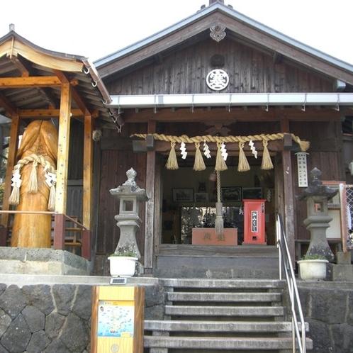 ■塞神社■当館より徒歩で約15分