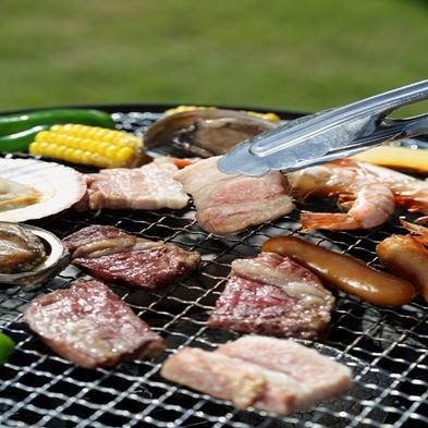 【BBQ&キャンプ体験】開放感のある自然に囲まれた芝生広場でアウトドア体験☆2食付プラン