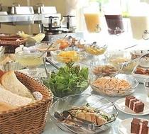 朝食 風景