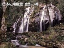 金引きの滝