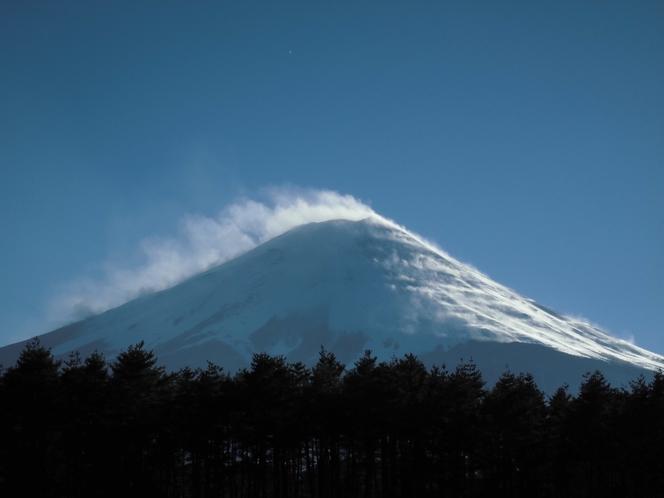 冬富士2018