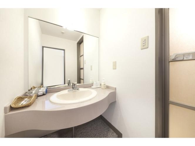 ツインルーム洗面所(一例)