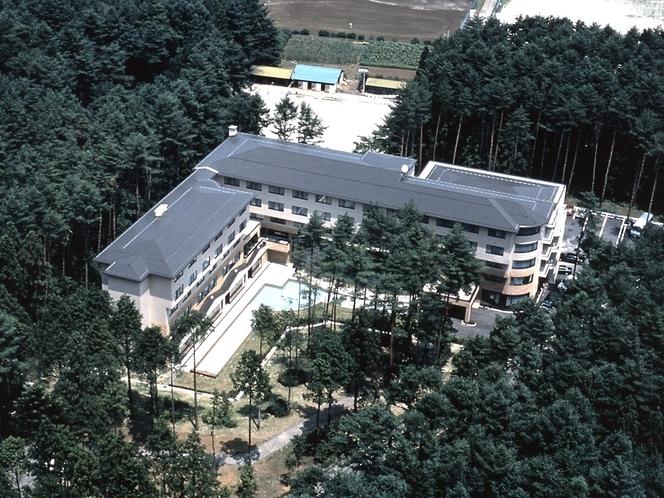 ホテル航空写真