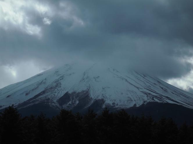 本日の富士山2018.01.10