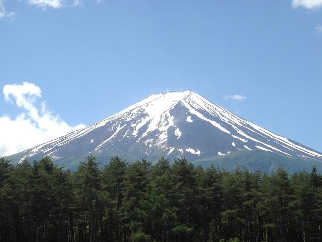 ホテルからの富士山