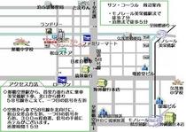 サン・コ〜ラル周辺地図