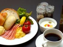 朝食取り分けイメージ