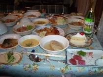 クリスマス夕食
