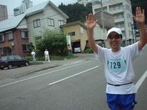 マラソン西村さんお客様