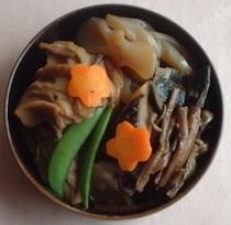 山菜ぜんまい料理