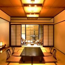 高尾館客室例 10畳+4畳
