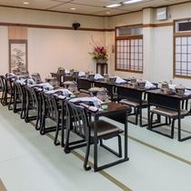 お食事会場 椅子席(小グループ例)