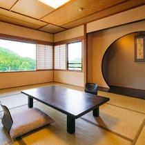 床の間と客室