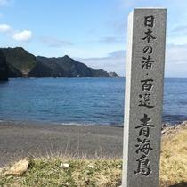 青海島 日本の海岸百選