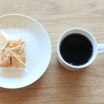 豆から焙煎するコーヒーとこだわりの美味しいお菓子