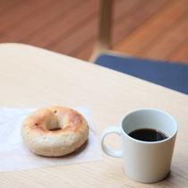 テラス111、112専用 朝食のベーグル