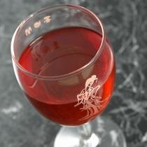 【楊貴妃ワイン】当館名物!楊貴妃3点セットの一つです。とーっても美味しいですよ♪