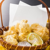 長門の名産 長州地鶏の天ぷら(追加注文)