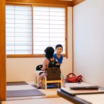 赤ちゃん歓迎客室のキッズスペース