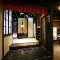 仙楽の玄関