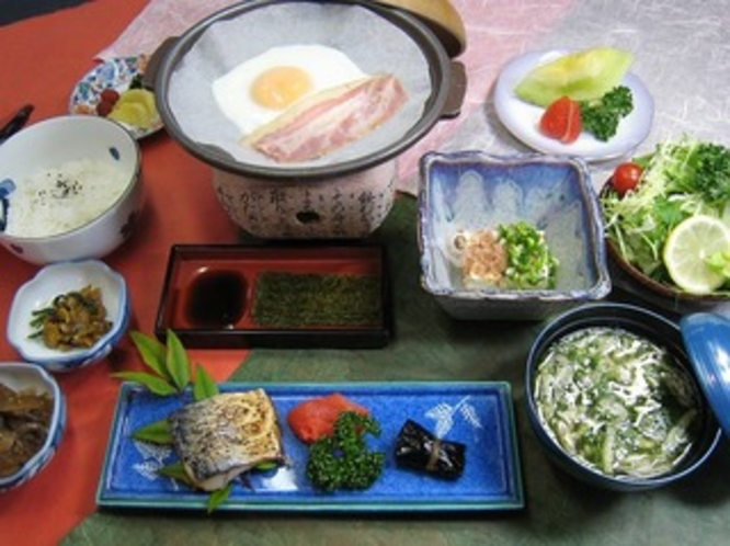 浜荘「特製」和朝食