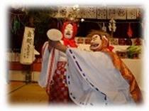 2017年3月18日(土)に奉納、日之影町大人神楽!