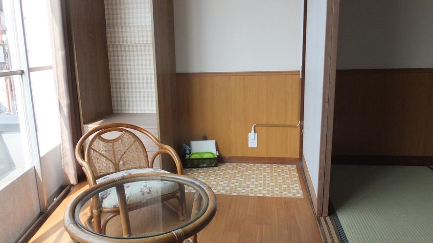 ペットと泊まれる和室(一例)