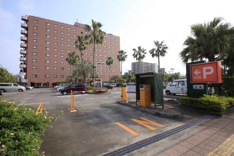 駐車場入口2