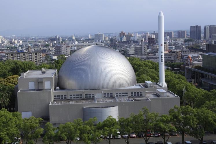 宮崎科学技術館:プラネタリウムドーム