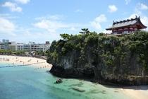 ホテル近く波之上橋からの景色5(波の上宮)
