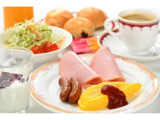 【2人で朝食!!】朝食付セミダブルプラン
