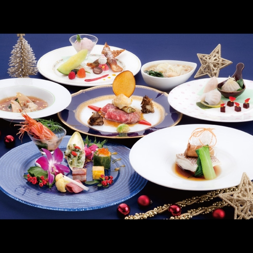 唐紅花 クリスマスコース ※写真はイメージです。